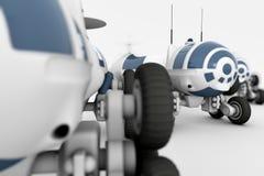 Voertuig - de ruimtezwerver, een mobiel laboratorium Royalty-vrije Stock Afbeelding
