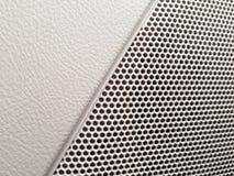 Voertuig het binnenlandse stileren - spreker van het auto de audiosysteem stock afbeelding
