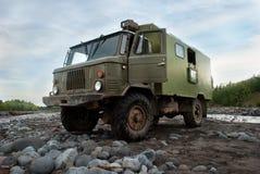 Voertuig in het hele land, Rusland Stock Afbeelding