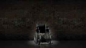 Voertuig voor gehandicapten, rolstoel Stock Fotografie