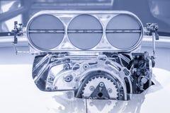 Voertuigcompressor HDR Royalty-vrije Stock Afbeelding