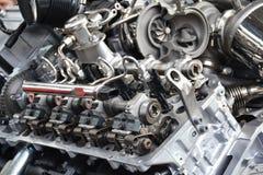 Voertuigv8 motor Royalty-vrije Stock Foto