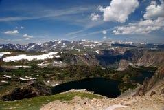 13,000 voet bij Mammoetpiek Royalty-vrije Stock Foto
