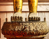 Voet Boedha van Thailand Stock Afbeeldingen