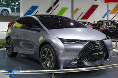 2013 voet-HT AUTOSHOW-Toyota Yuejia van GZ Royalty-vrije Stock Fotografie