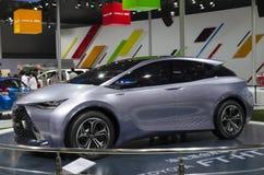 2013 voet-HT AUTOSHOW-Toyota Yuejia van GZ Stock Foto