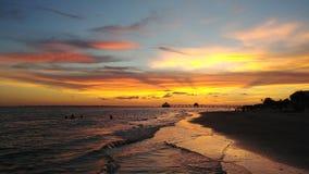Voet Myers Beach stock foto