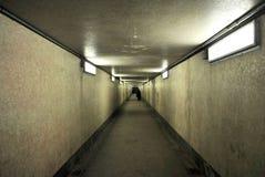 Voet tunnel Royalty-vrije Stock Foto's
