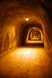 Voet tunnel Royalty-vrije Stock Foto