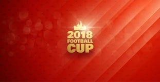 Voetbal 2018 Vector Illustratie