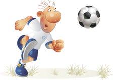 Voetbal-2 Royalty-vrije Stock Foto's