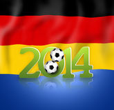 2014 Voetbal Stock Afbeeldingen