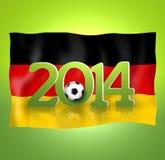2014 Voetbal Royalty-vrije Stock Afbeeldingen