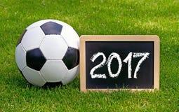 Voetbal 2017 Stock Fotografie