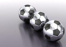 Voetbal bal-03 Stock Afbeeldingen