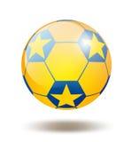 voetbal bal Royalty-vrije Stock Foto's