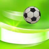 Voetbal-bal Stock Afbeeldingen