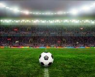 Voetbal bal.football, Royalty-vrije Stock Afbeeldingen