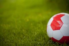 Voetbal/de Bal van het Voetbal Stock Afbeeldingen