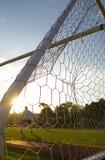 Voetbal - de Praktijk die van de Voetbal - opleidt Stock Foto
