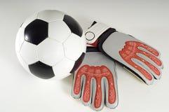 Voetbal - de Punten van de Voetbal stock foto