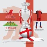 Voetbal, Voetbal Grafisch Element Royalty-vrije Stock Foto