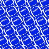 Voetbal naadloos patroon. royalty-vrije illustratie