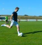 Voetbal opleiding Stock Fotografie