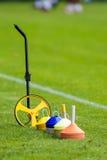 Voetbal opleidingsmateriaal Royalty-vrije Stock Afbeeldingen