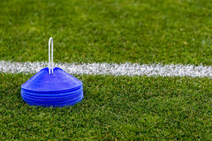 Voetbal opleidingsmateriaal Royalty-vrije Stock Foto's