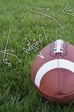 Voetbal playbook Royalty-vrije Stock Afbeeldingen