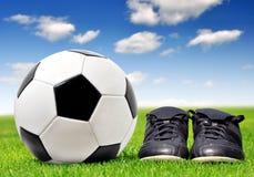 Voetbal/Voetbal Stock Foto