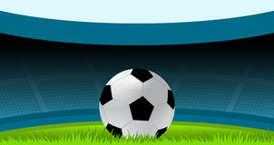 Voetbal, Voetbal, Voetbalbal, Sport, Stadion Stock Foto's