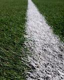 Voetbal of voetbalgebied het merken Royalty-vrije Stock Foto's