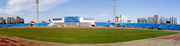 Voetbal Wereldkampioenschap 2018 Panorama van het opleidingsstadion van de stad van Samara, Togliatti stock foto's
