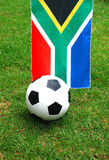 Voetbal Zuid-Afrika Stock Fotografie