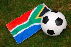 Voetbal Zuid-Afrika Royalty-vrije Stock Afbeeldingen