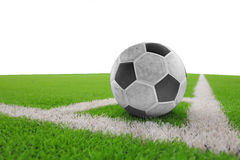 Voetbalbal royalty-vrije stock afbeelding