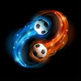 Voetbalbal Royalty-vrije Stock Afbeeldingen