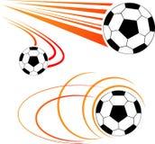 Voetbalbal Royalty-vrije Stock Foto's