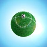 Voetbalbal royalty-vrije illustratie