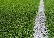 Voetbalgebied Stock Afbeeldingen