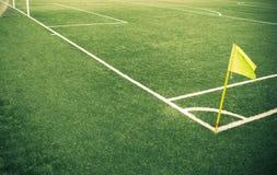 Voetbalgebied Stock Foto's