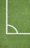 Voetbalgebied Royalty-vrije Stock Afbeeldingen