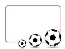 Voetballen stock fotografie