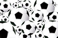 Voetballen Stock Foto