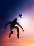 Voetballer Royalty-vrije Stock Afbeeldingen