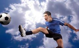 Voetballer Stock Foto