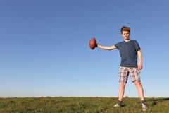 voetballer Royalty-vrije Stock Afbeelding