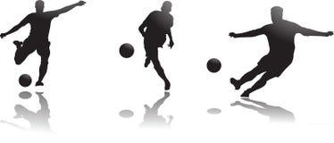 voetballers Royalty-vrije Stock Foto
